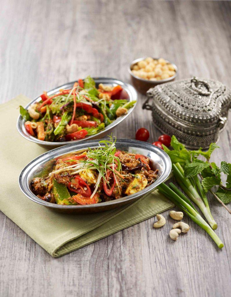 Vegetables Jaipure and Kadhai Paneer