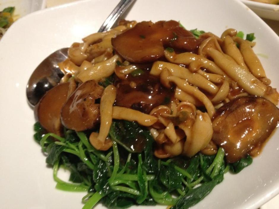 veggie mushroom