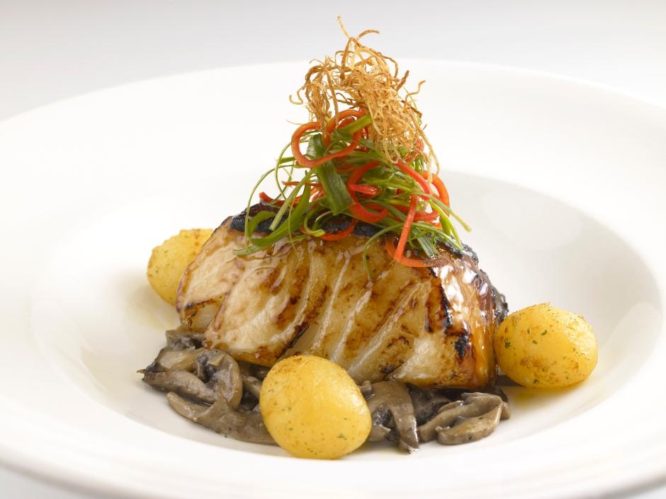 (HPB) Baked Teriyaki Cod Fish