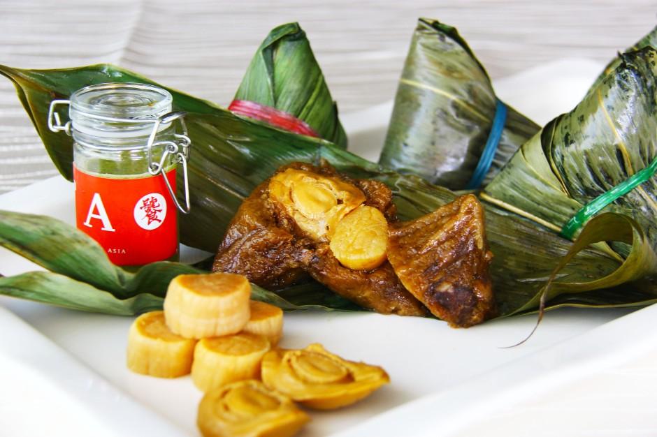 TAO - Yaowarat Abalone and Conpoy dumpling