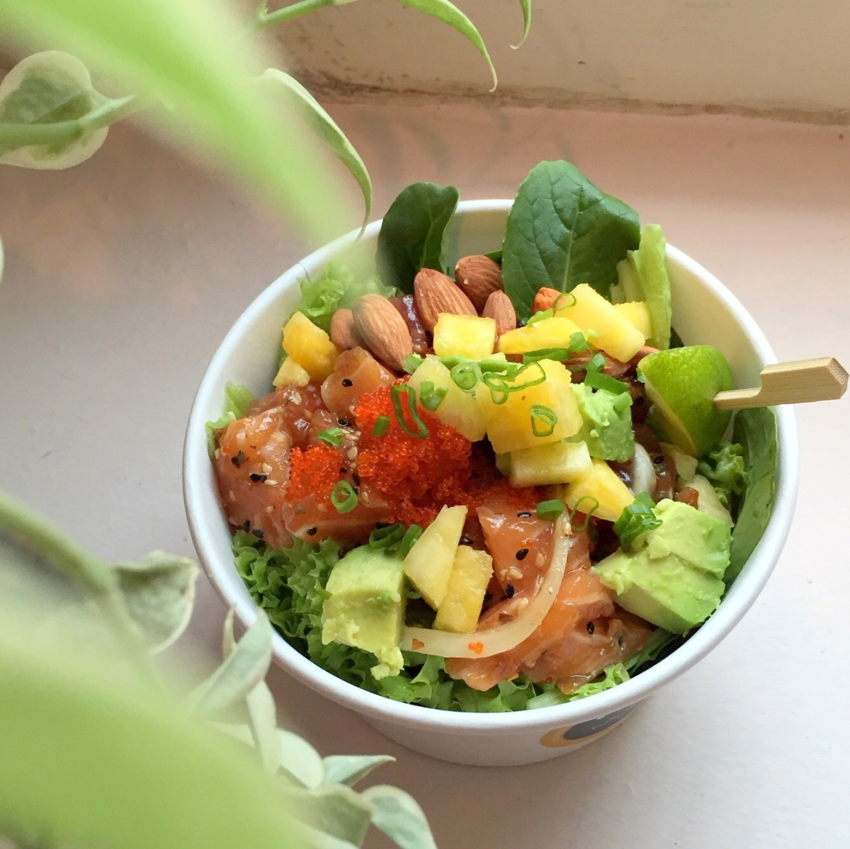 Food review aloha poke at amoy street healthy hawaiian for Aloha asian cuisine