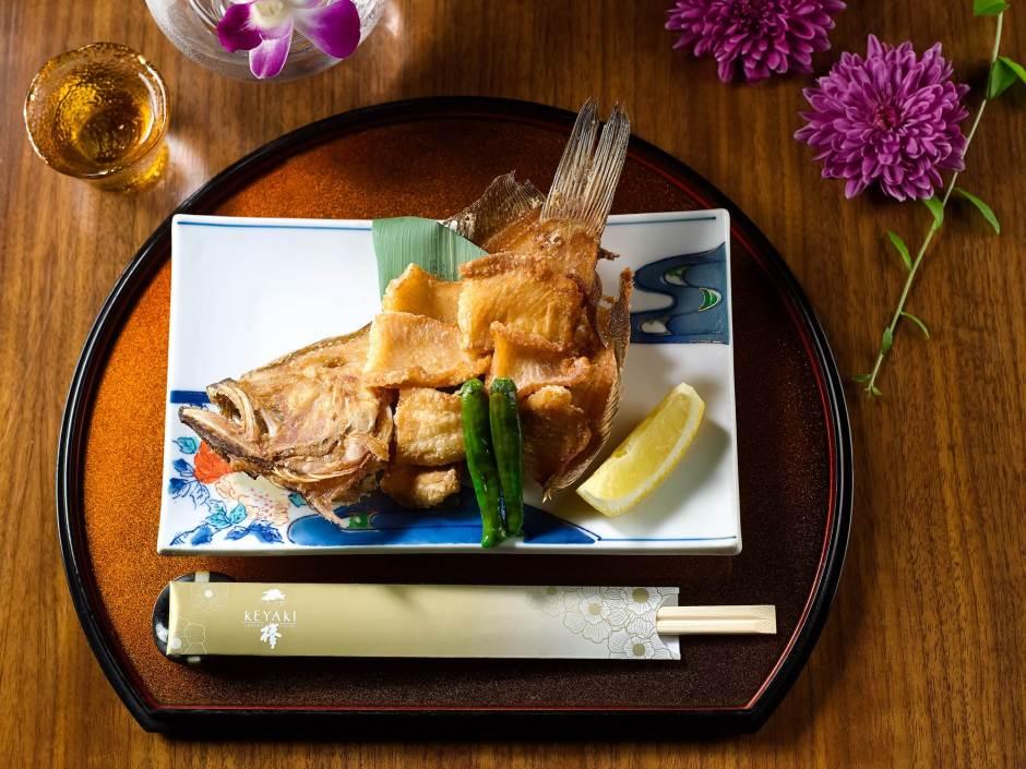 Deep-fried Flounder