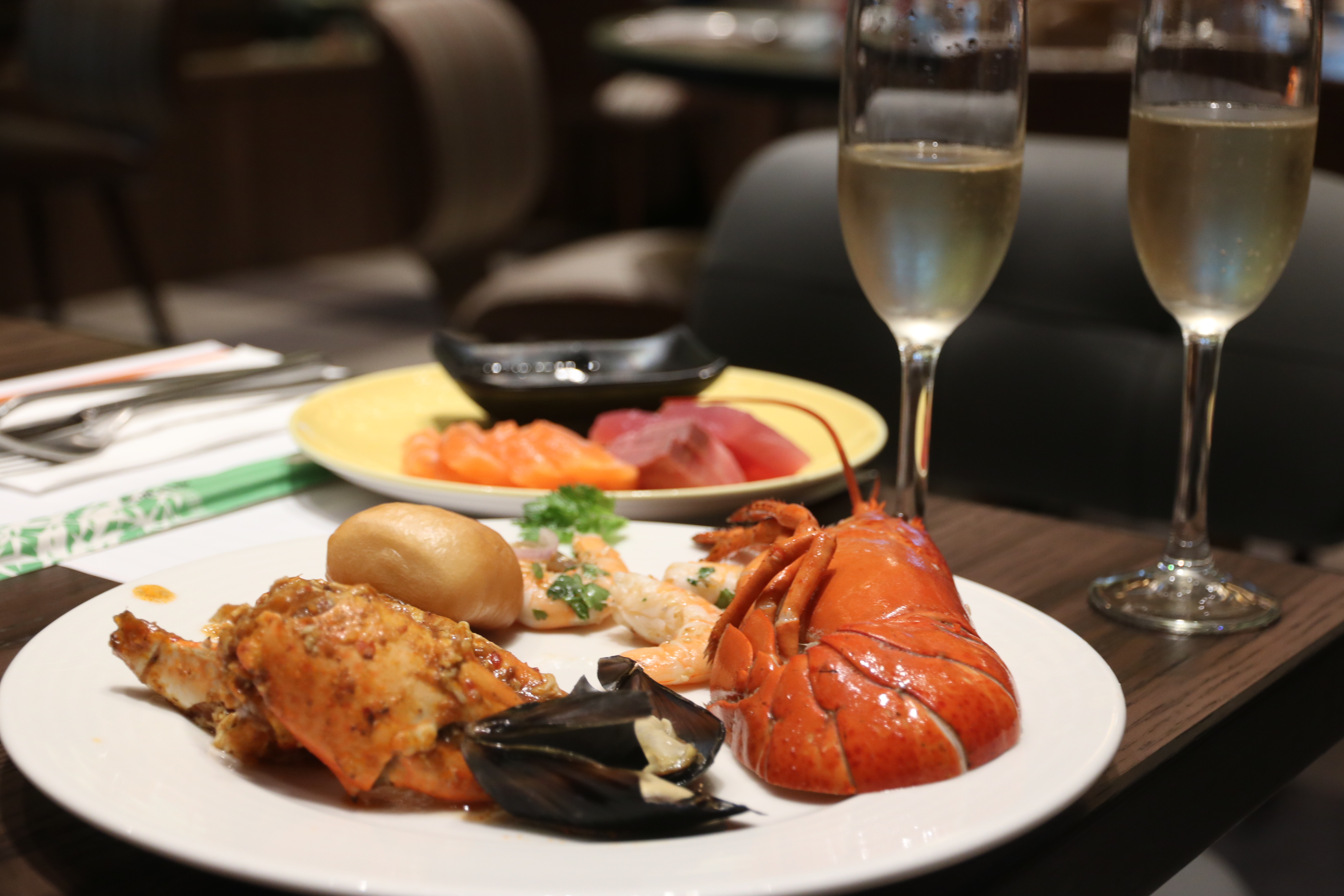 Awesome Food Review J65 Sunday Champagne Brunch At Hotel Jen Beutiful Home Inspiration Papxelindsey Bellcom