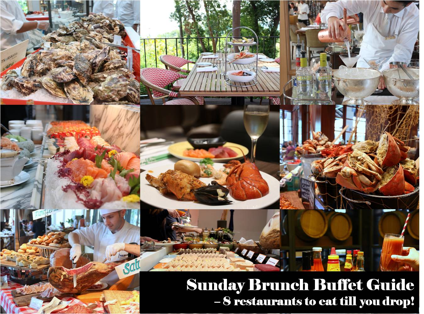 Strange Snippets 8 Sunday Brunch Buffets In Singapore You Should Beutiful Home Inspiration Papxelindsey Bellcom