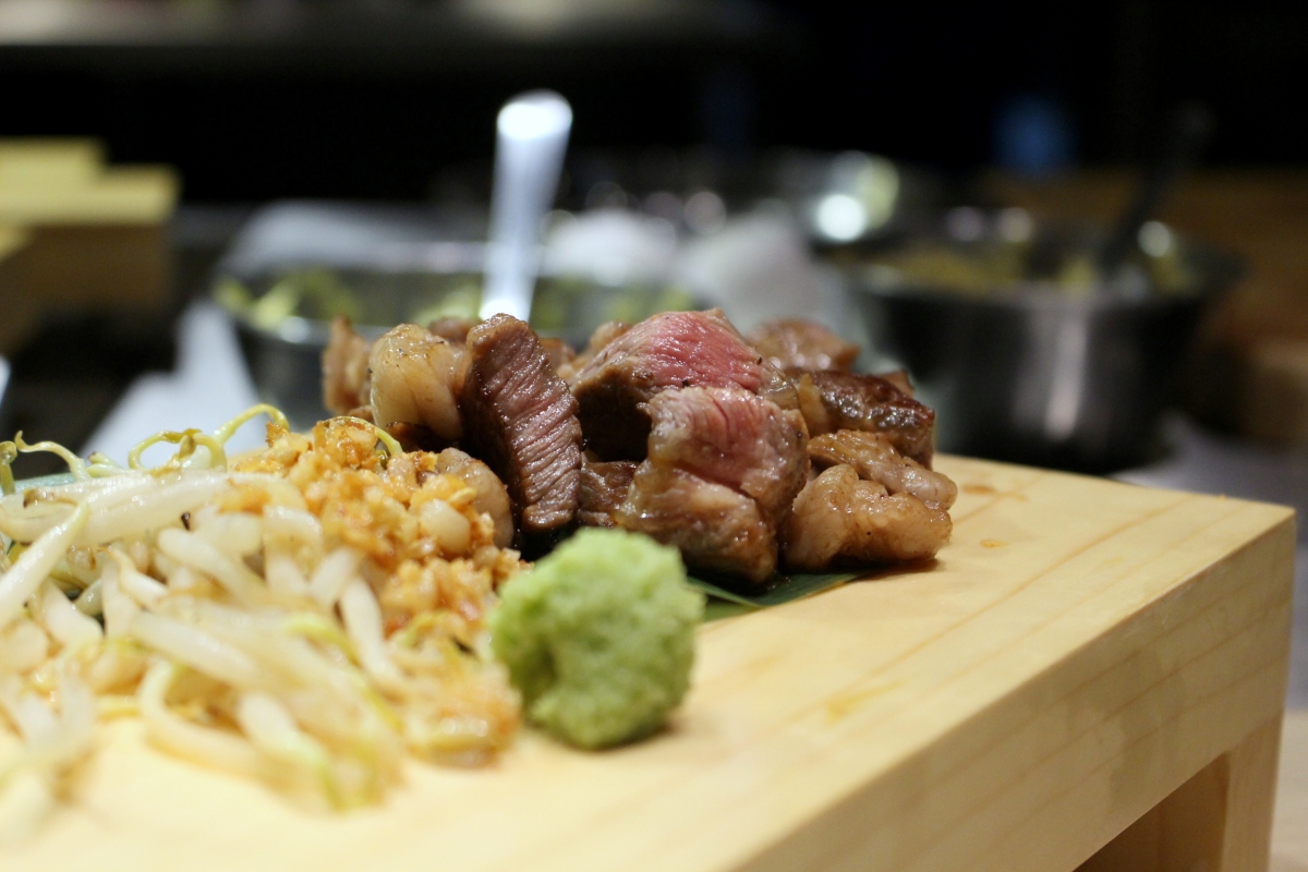 Food review teppan bar q at robertson quay teppanyaki for Akane japanese fusion cuisine