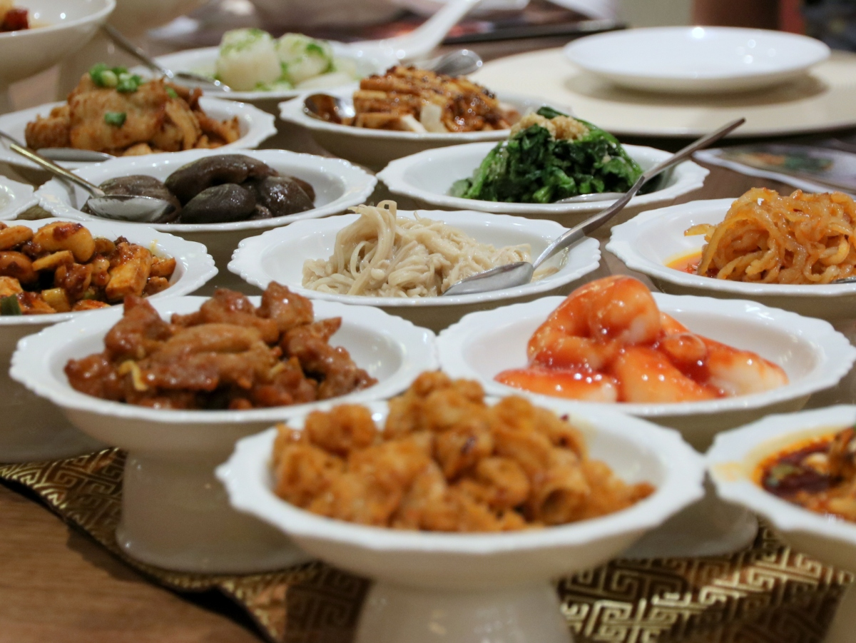 Review Buffet At Ginger Parkroyal On Beach Road: Snippets: Si Chuan Dou Hua Restaurant At PARKROYAL On