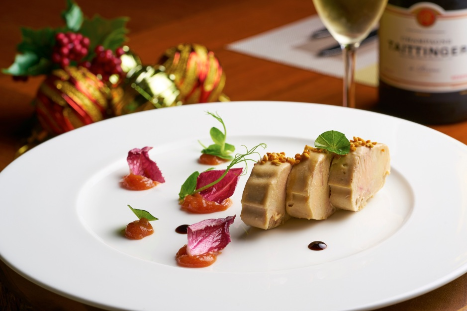 foie-gras-with-lemon-and-orange-marmalade-caramelised-nuts-and-red-endive