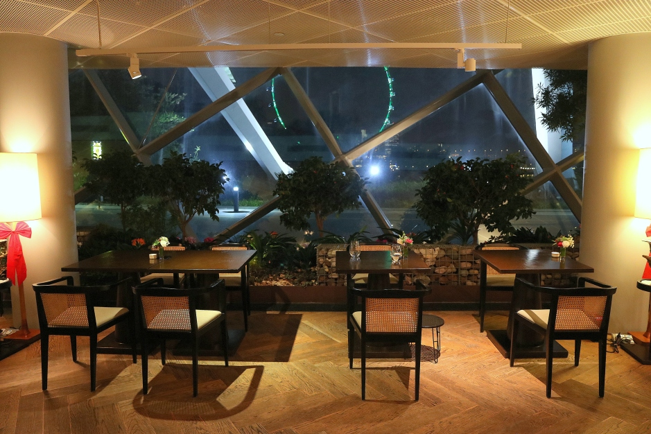 Garden By The Bay Eateries food review: pollen at gardensthe bay singapore | more than