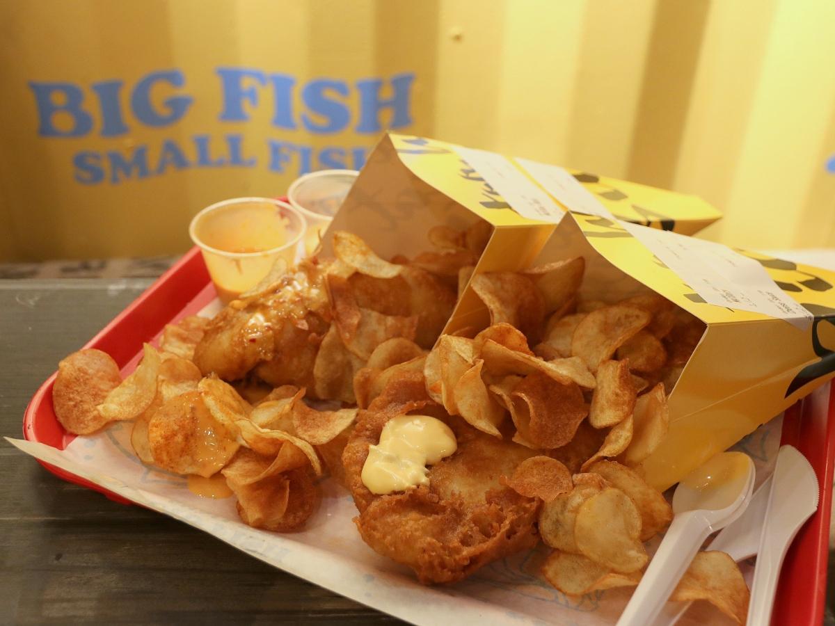 Food Review: Big Fish Small Fish at Punggol Tebing Lane | 7 Container Dining Concepts at Punggol East