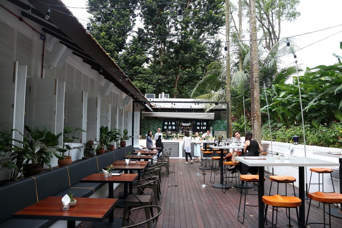 Food Review Botanico Singapore At The Garage Singapore