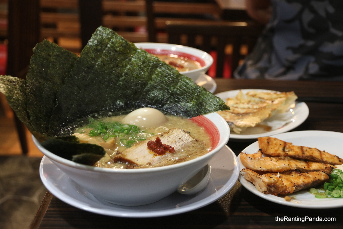 Food Review: Ramen Bari Uma at Tanglin Shopping Centre | Hiroshima ramen brand famous for its rich Tonkotsu broth