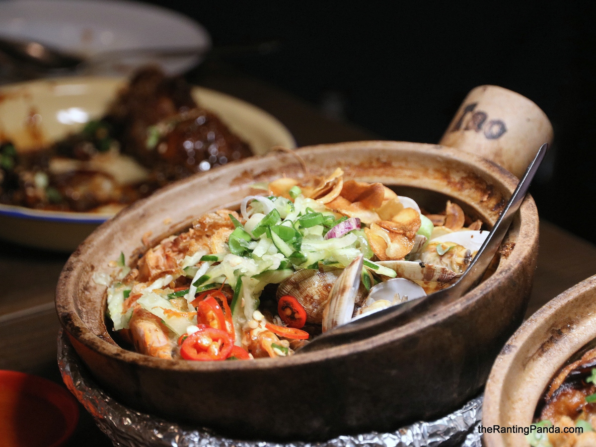 Food Review: Provisions at Dempsey Road | The first Claypot Rice and Bar in Singapore!