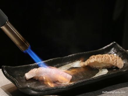 Aburi Bluefin Tuna Otoro