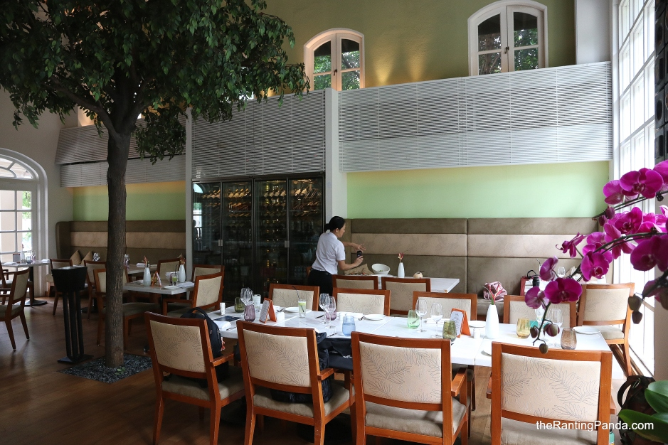 Food Review The Garden Restaurant At Sofitel Singapore