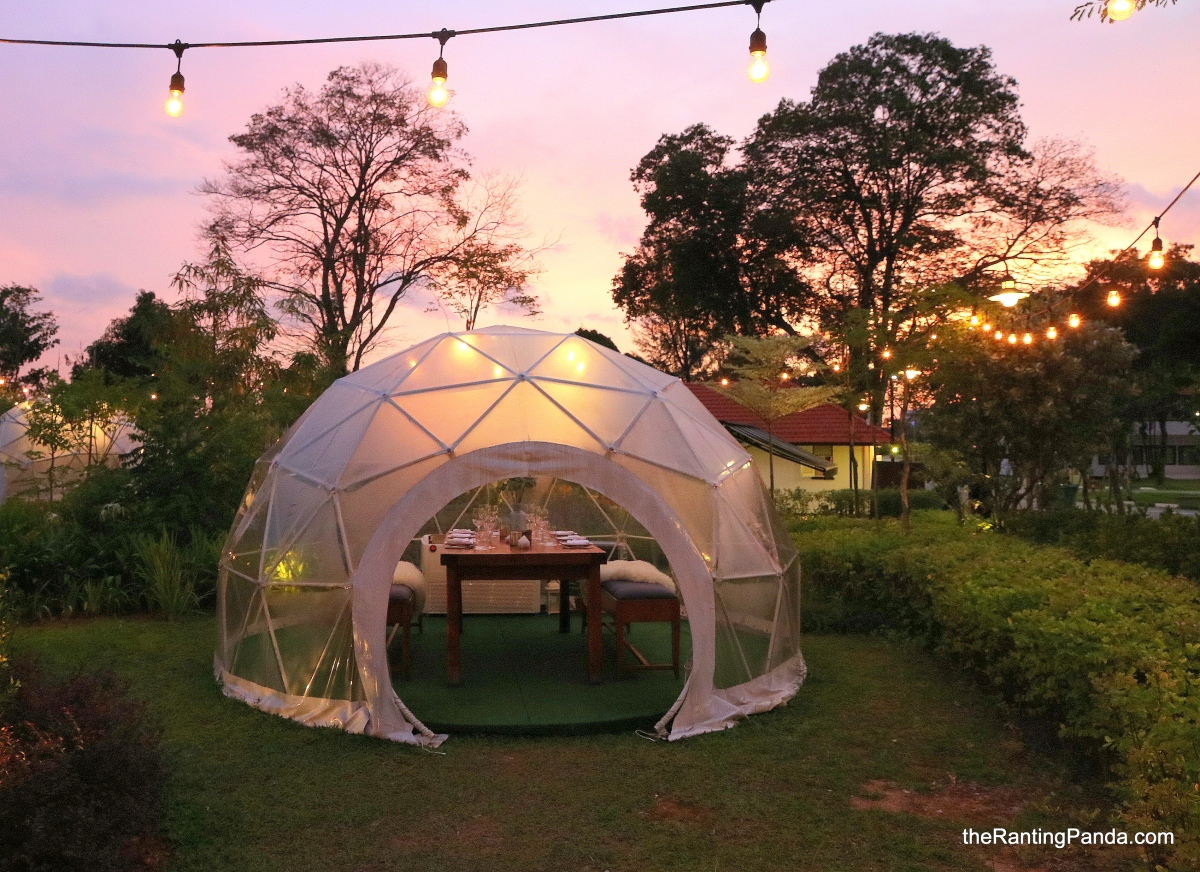 Food Review: The Summerhouse at Seletar Aerospace Park | The Most Dreamy and Beautiful Garden Dome Dining in Singapore