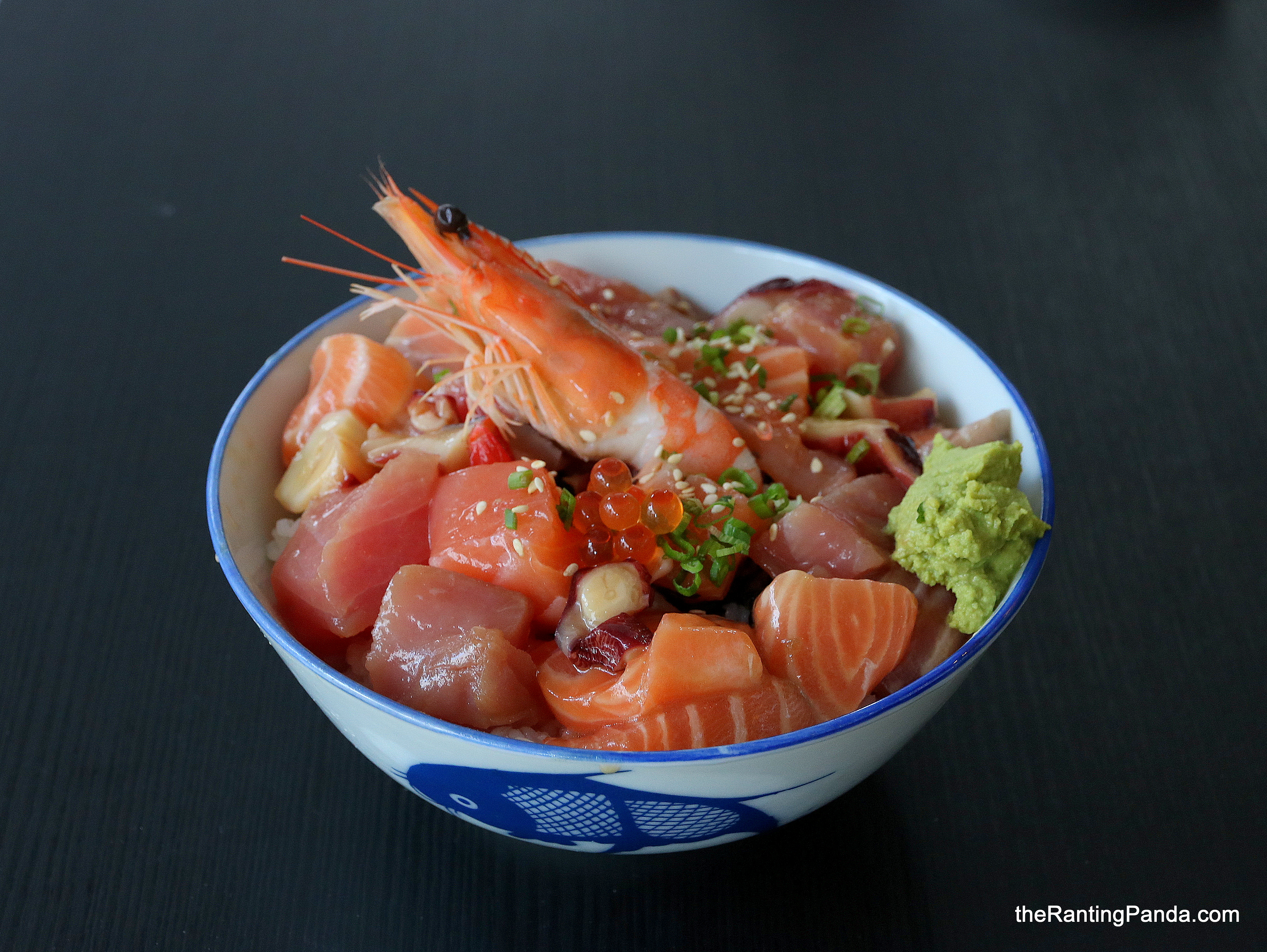 Food Review: District Sushi at Sunshine Plaza | Inexpensive S$13 Bara Chirashi Don in Singapore