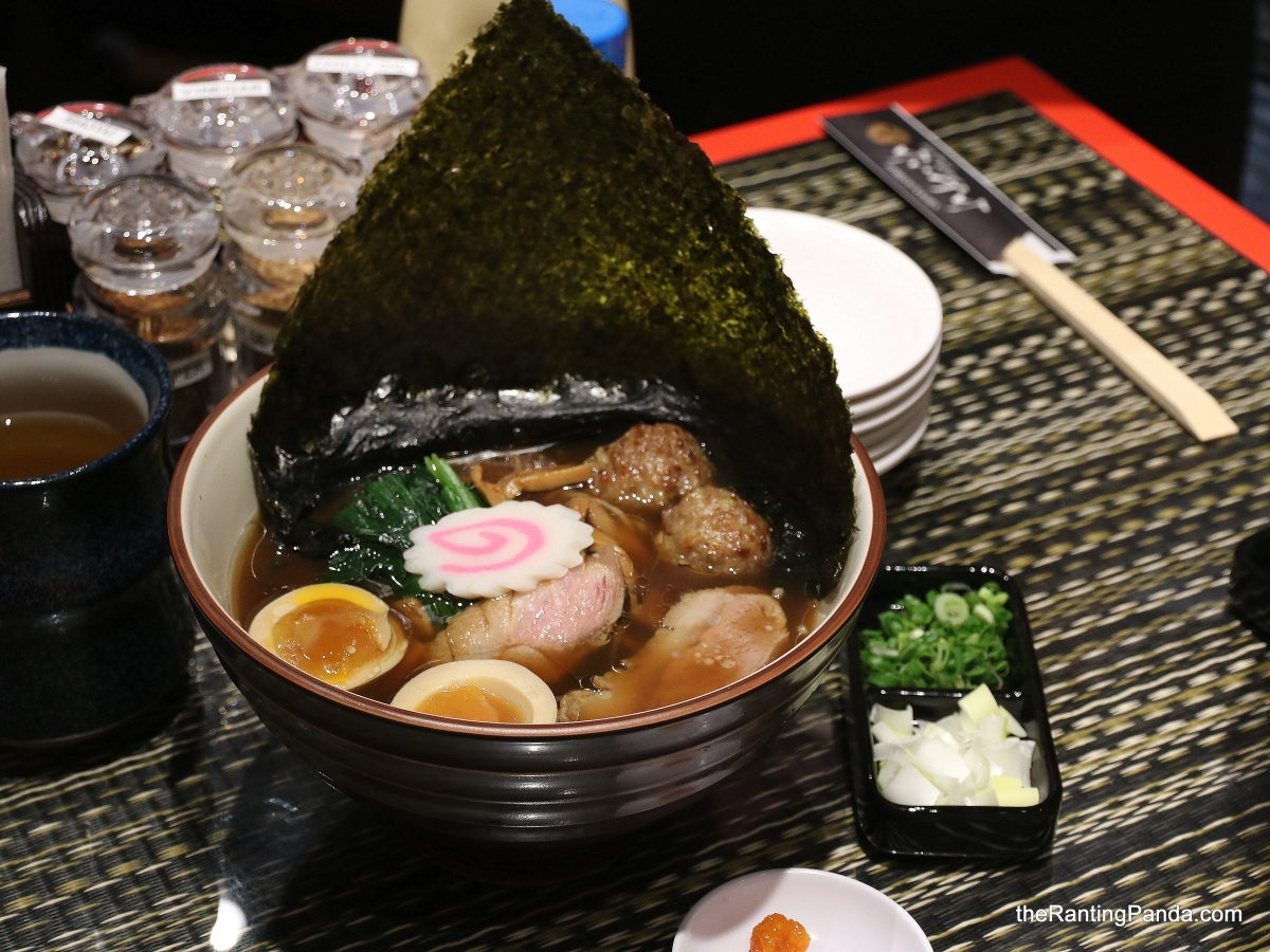 Food Review: Ginza Kamo Soba Kyudaime Keisuke at Holland Village | The First Duck Ramen Restaurant in Singapore!