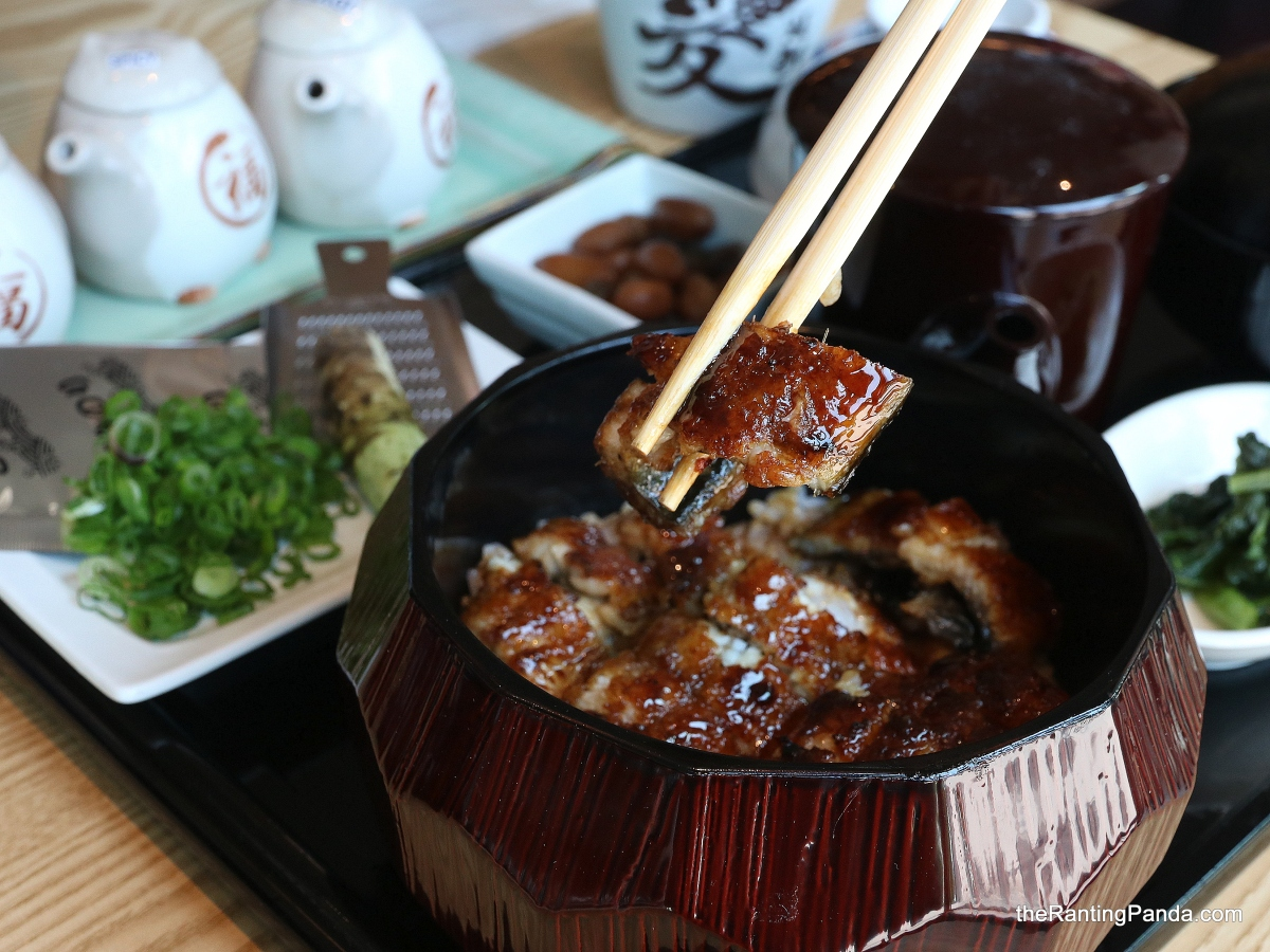 Food Review: Man Man Unagi Teppei by Yamato Izakaya | Michelin Bib Gourmand Unagi opens at Oxley Bizhub in Ubi