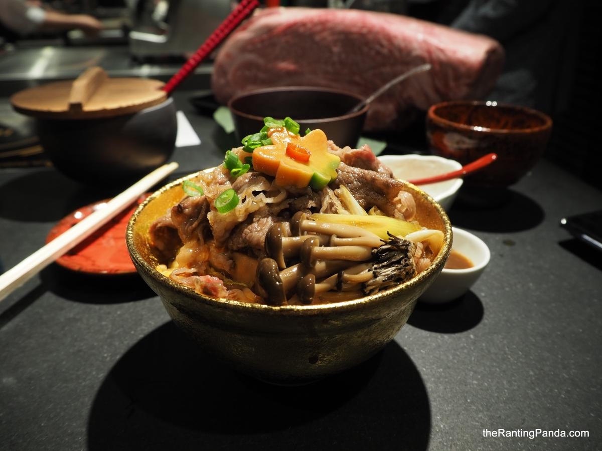 Food Review: Beef Sukiyaki Don Keisuke at Tanjong Pagar | Keisuke Takeda's Fifteenth Restaurant in Singapore