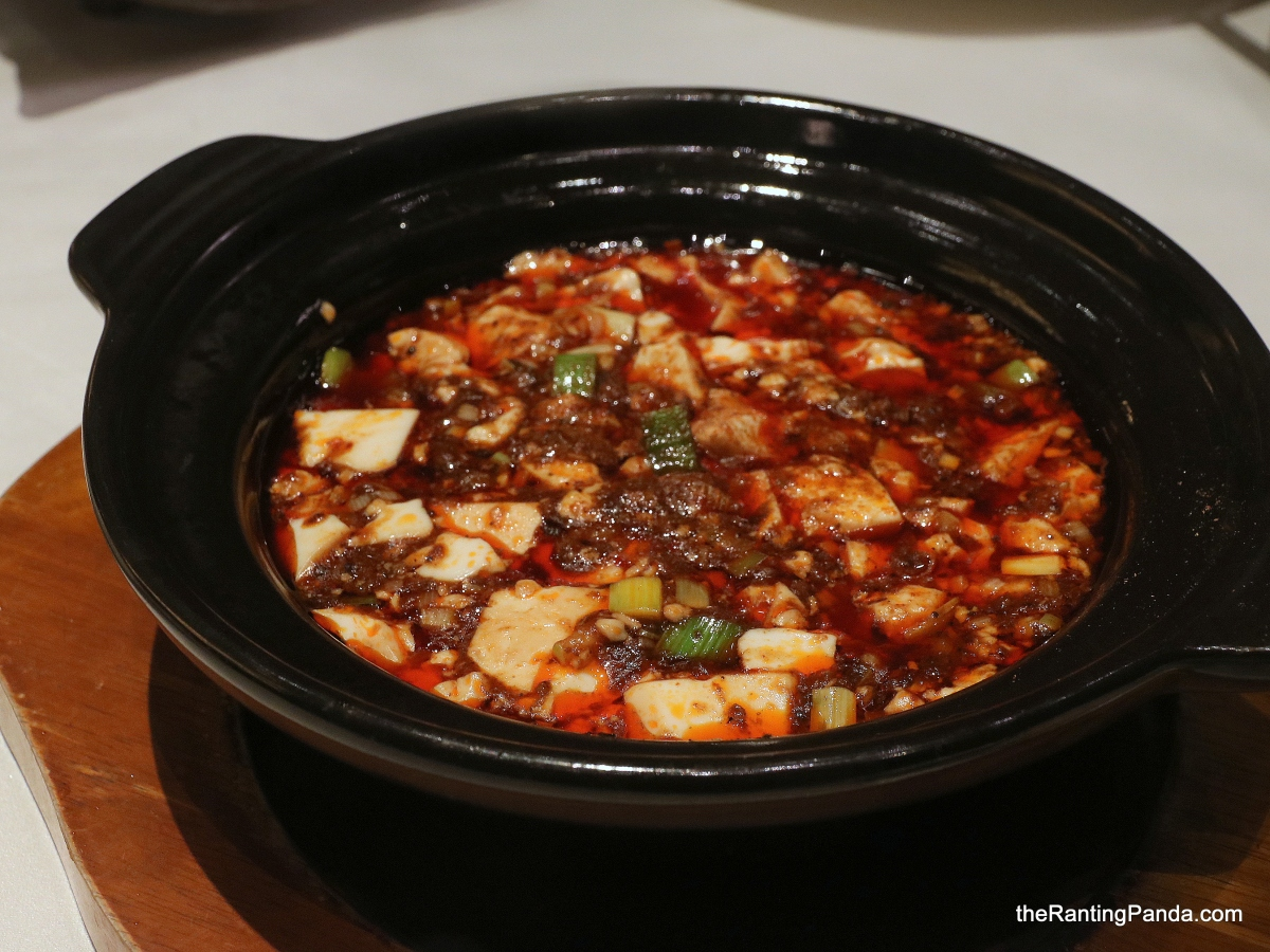 Food Review: Michelin-starred Shisen Hanten by Chen Kentaro at Mandarin Orchard Singapore | The Must Try Mapo Tofu and Foie Gras Chawanmushi