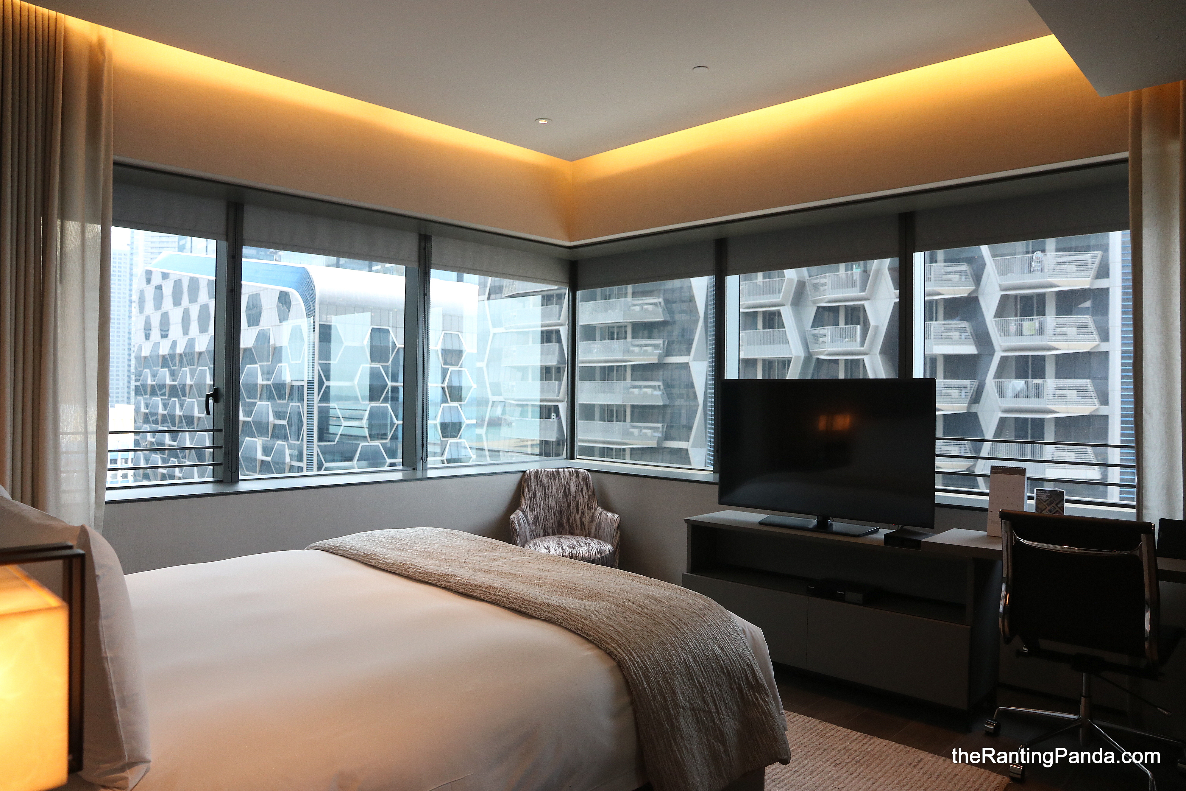 Hotel Review Oakwood Premier Oue Singapore Spacious One Bedroom