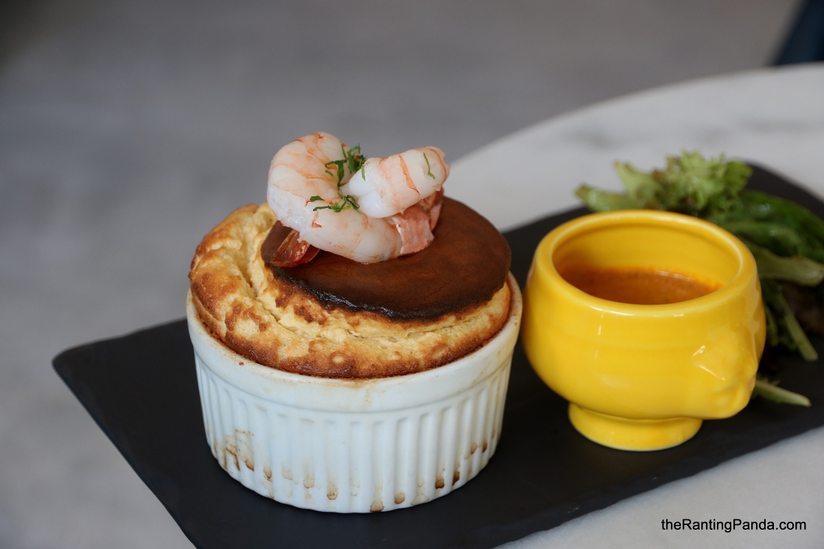 Food Review: Soufflé at Duxton Hill | Savoury Souffles with Lobster Bisque and local Laksa