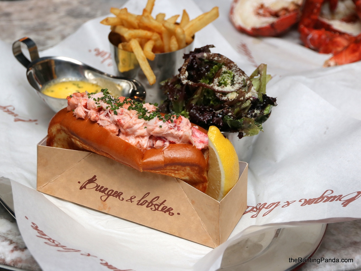 Food Review: Burger & Lobster Debuts in Singapore | Savour Lobster Roll and Jewel Changi Exclusive Sambal Glazed Lobster