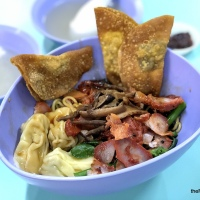 Food Review: Ji Ji Wanton Noodle Specialist At Hong Lim Food Complex   Delicious Wanton Mee In Chinatown