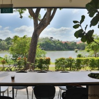 Food Scoops: Slow Bakes And Jing Si Books & Cafe At Tzu Chi Humanistic Youth Centre | Tranquil Taiwanese-Style Teahouse Beside Yishun Pond